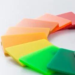 Coloured Cast Acrylic Sheets