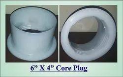 6 inch plastic core plug