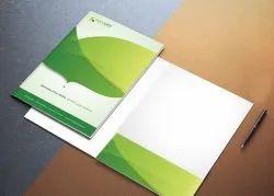 1 Day Presentation Folder Printing Services