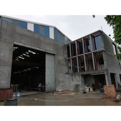 Steel Frame Structures Industrial Construction Service, in Pan India