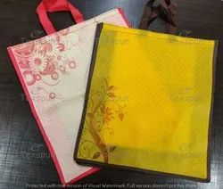Traditional Brown Stitching Non Woven Shopping Bags, For Grocery, Capacity: 10 kg