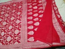 Chiffon Pure Silk Saree