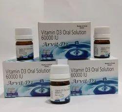 Vitamin D3 Oral Solution 6000IU