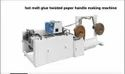 Kamsonic Shopping Bag Hot Melt Glue Twisted Paper Handle Making Machine, Capacity: 80-100 (pieces Per Hour)