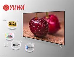 Black 24 Inch YUWA Normal LED Flat TV, Resolution: 1366 X 768 Pix