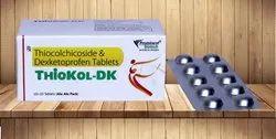 Thiocolchicoside Dexketoprofen Tablet