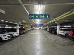 Metal Car Parking Guidance System, Fully Automatic