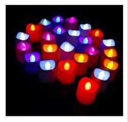 Unibox Plastic Led Candle Light Bulb