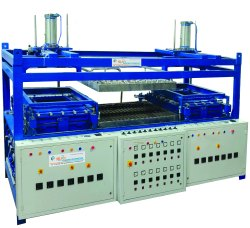 Briefcase Cell Vacuum Forming Machine Two Side