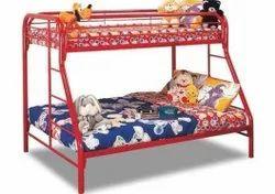 METAL KIDS DOUBLE BUNK BED