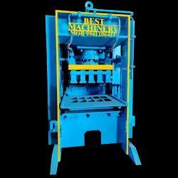 10 Cavity Semi Automatic Fly Ash Bricks Making Machine