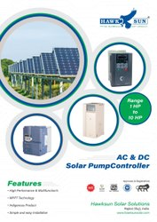 7.5HP AC Solar Pump Controller