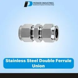 Stainless Steel Double Ferrule Union