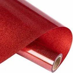 Siser Red Colour Glitter Heat Transfer Vinyl