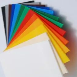 Coloured Extruded Acrylic Sheets