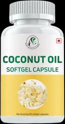 Coconut Oil Softgel Capsules