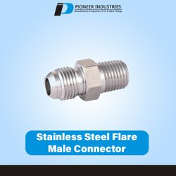 Stainless Steel Flare Male Connector