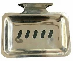 Silver Stainless Steel Dish Soap, Material Grade: SS 304, Size: 5 X 4 Inch ( L X D)