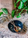 Brass Pineapple Shape Cutlery Polished Tea And Fork Handle Cutlery Set