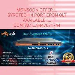 Epon olt Syrotech 4 port