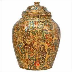 RKM Copper Storage Pot 16 Liters Capacity