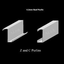 4.3mm C & Z Galvanized Iron Metal Roof Purlin