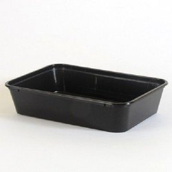 Plastic Rectangular Food Container 650ml