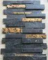 Black Stone Carving Mosaic Tiles