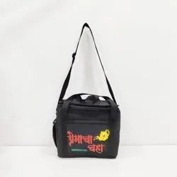Jainsons Black Commercial Sling Bags, Size: 9 X 7 X 6 Inch