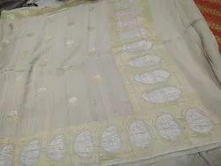 Handloom Desi Tussar Silk Saree