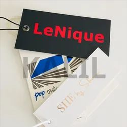 Multicolor Printed Paper Hang Tag, For Garments, Packaging Type: Packet