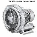 Single Stage Aluminum 20 Hp Industrial Vacuum Blower