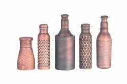 Smokey Copper Water Bottle