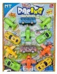 Multicolor Plastic Kids Car Toy, For School/Play School