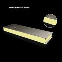 69 Mm Prefabricated Sandwich Panels