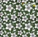 Blue Ceramic Digital Vitrified Parking Tiles Manufaturer, Thickness: 8 - 10 Mm