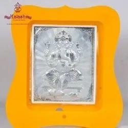 999 Silver Religious Frame