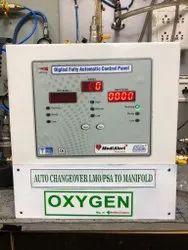 Automatic Oxygen Changeover Panel