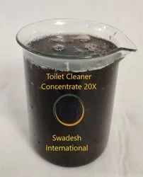Swadesh Toilet Cleaner Concentrate 20X, Packaging Size: 50 Kg