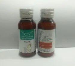 Mefenamic Acid 50mg+Paracetamol 125mg Syrup