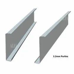 3.2mm Z Shape Galvanized Purlins