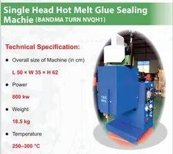 Single Head Hot Melt Glue Sealing Machine