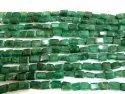 Natural Emerald Beryl Briolette Nugget Tumbled 9to10mm Beads Sold Per Strand