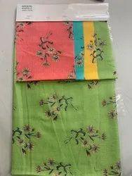 Black Capsule Foil Print Fabrics for Garments, 100 Gsm