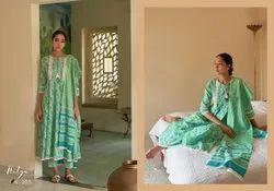 Ladies Cotton Printed Anarkali Suit