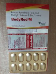Ferrous Ascorbate Folic Acid Methylcobalamin Zinc Sulphate Tablet