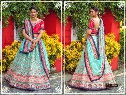 Woman Bridal Lahenga Choli