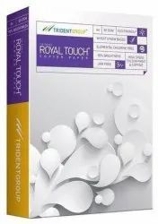 White Trident Royal Touch Copier Paper, Packaging Size: A/4, Size: 210x297