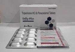 Tolperisone 150mg+ Paracetamol 325mg Tablet