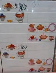 Gloss Kitchen Tiles, Packaging Type: Box, Thickness: 12 x 18 cm